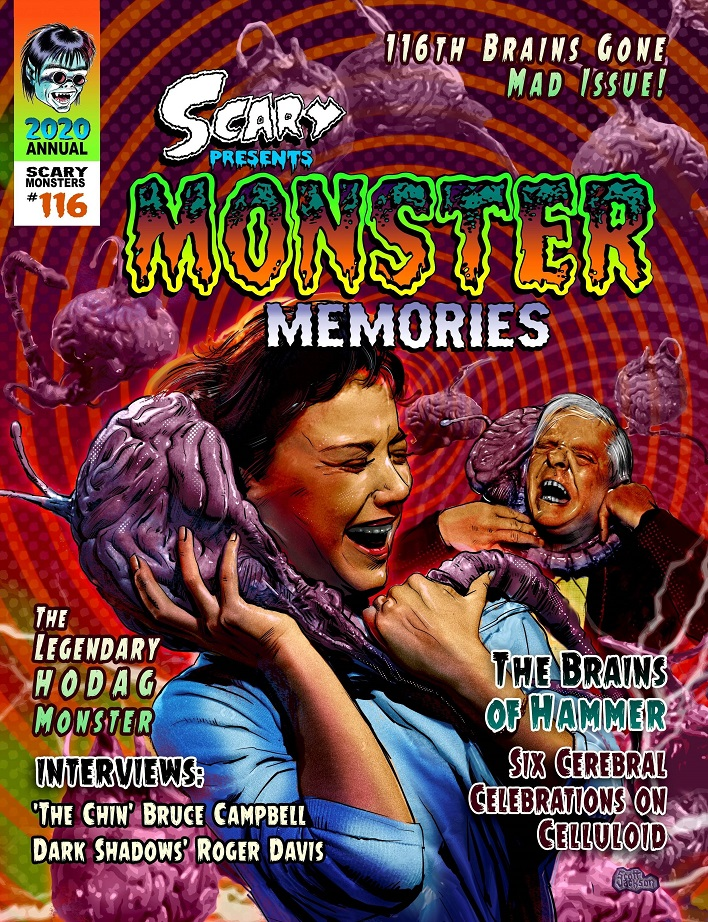 SCARY MONSTERS MAGAZINE #116