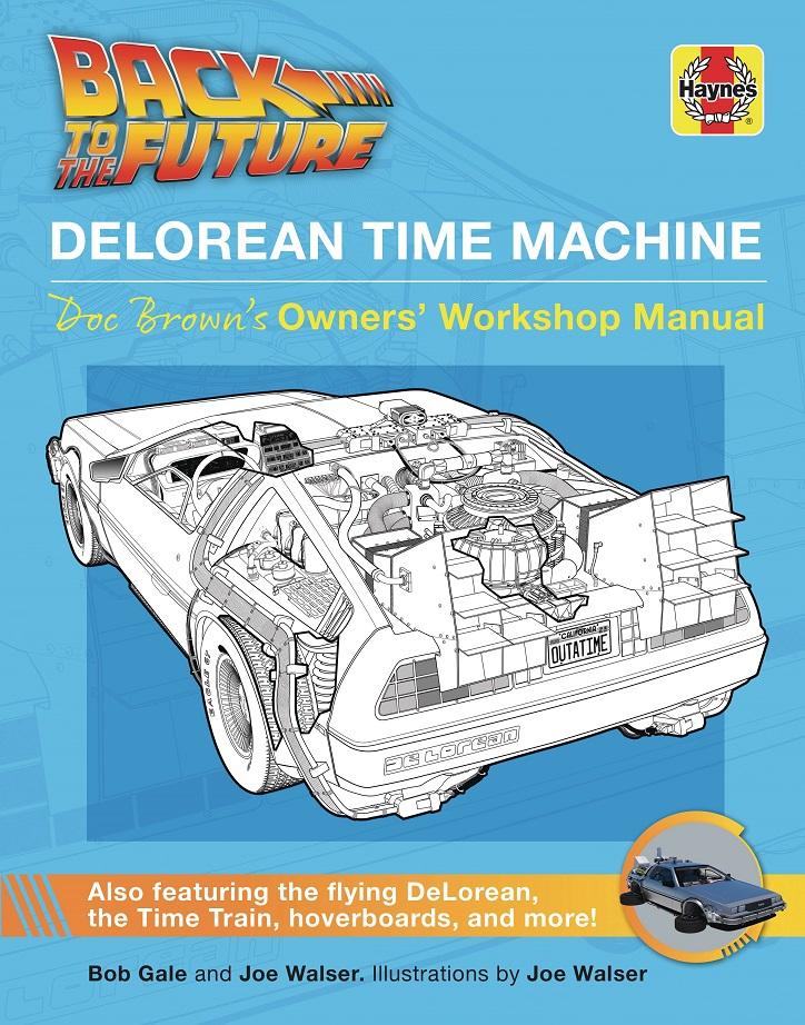 BACK TO THE FUTURE – DELOREAN TIME MACHINE USERS MANUAL