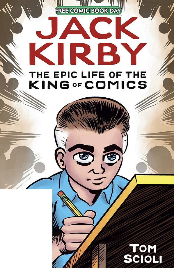 FCBD 2020 – JACK KIRBY EPIC LIFE KING OF COMICS