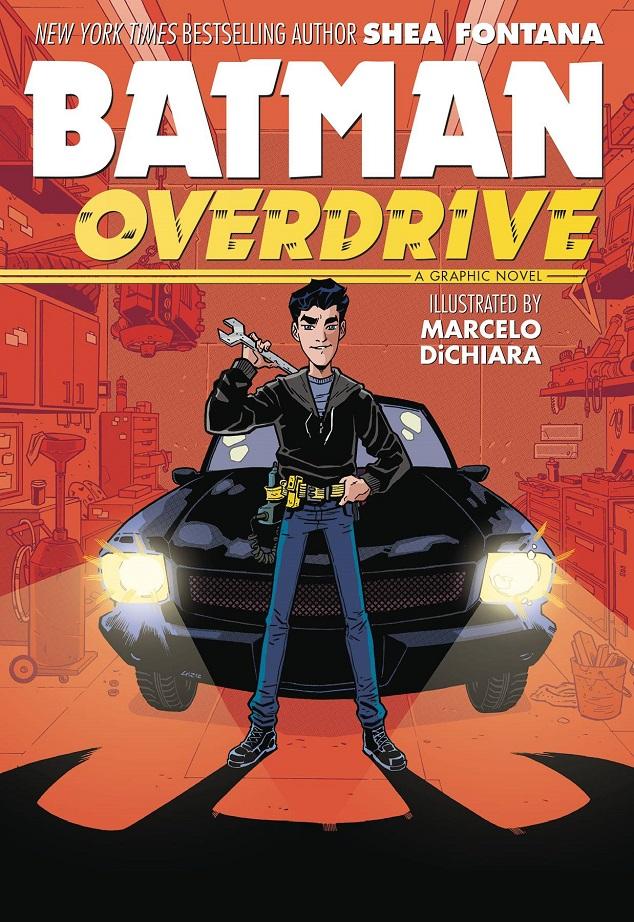 BATMAN – OVERDRIVE TP