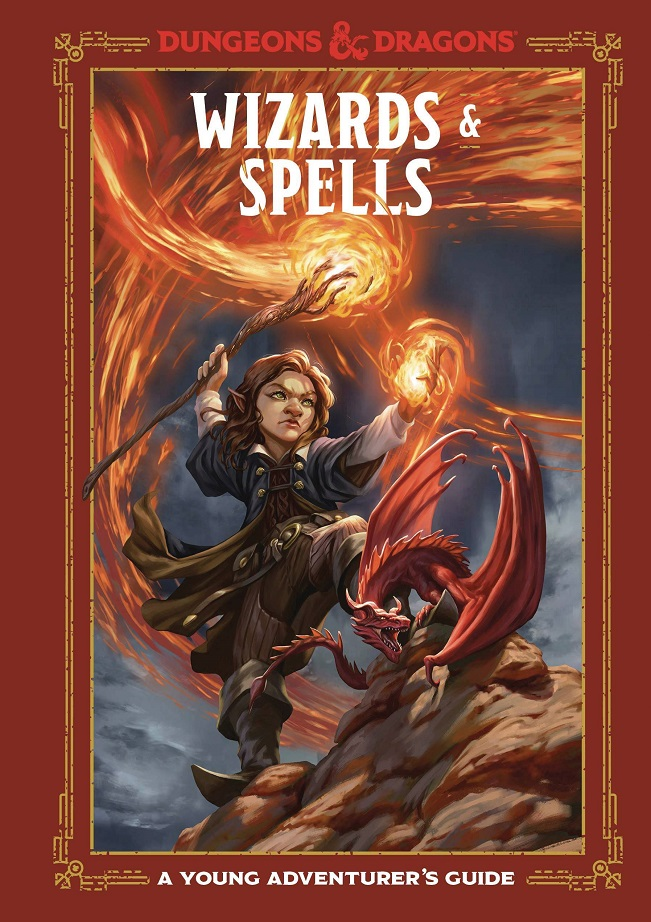 WIZARDS & SPELLS – YOUNG ADVENTURERS GUIDE D&D HC