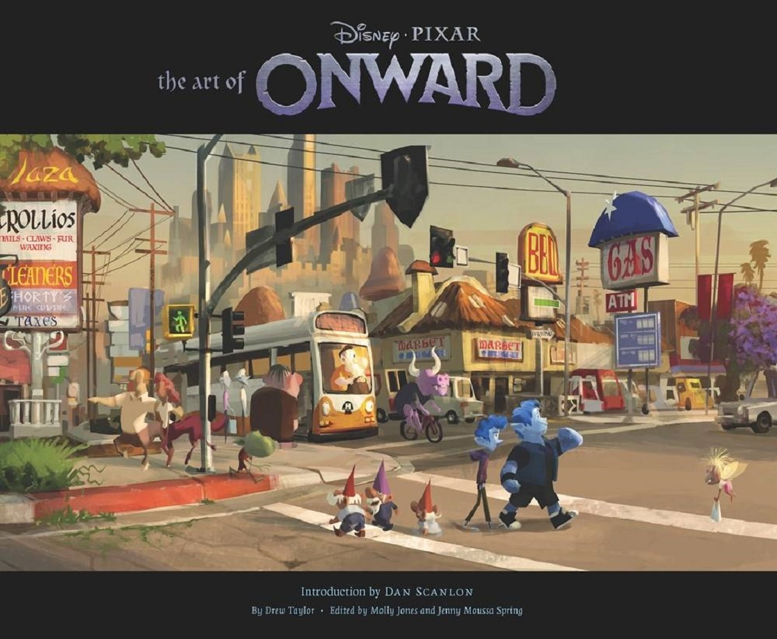 ART OF ONWARD HC
