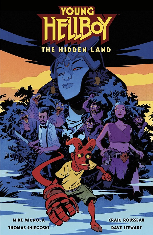 YOUNG HELLBOY – THE HIDDEN LAND HC