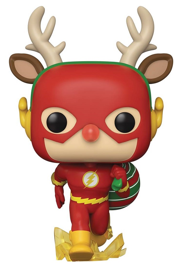 POP HEROES DC – HOLIDAY RUDOLPH FLASH VIN FIG