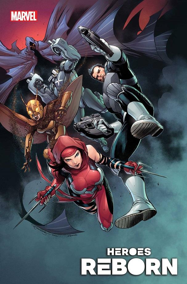 HEROES REBORN – SQUADRON SAVAGE #1