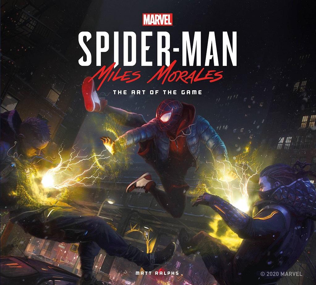 MARVELS SPIDER MAN MILES MORALES – ART OF GAME HC