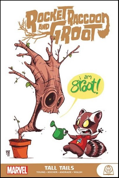 ROCKET RACCOON AND GROOT GN TP – TALL TAILS