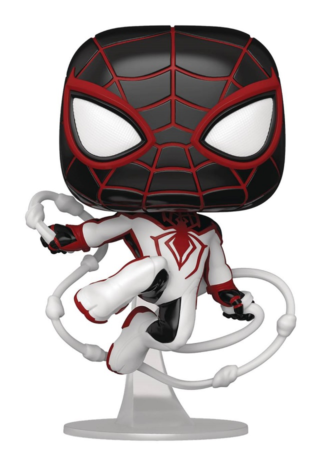 POP GAMES MILES MORALES – GAME TRACK SUIT VINYL FIG