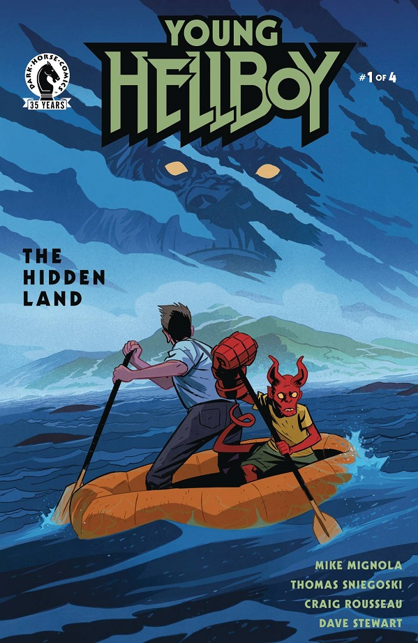 YOUNG HELLBOY – THE HIDDEN LAND #1