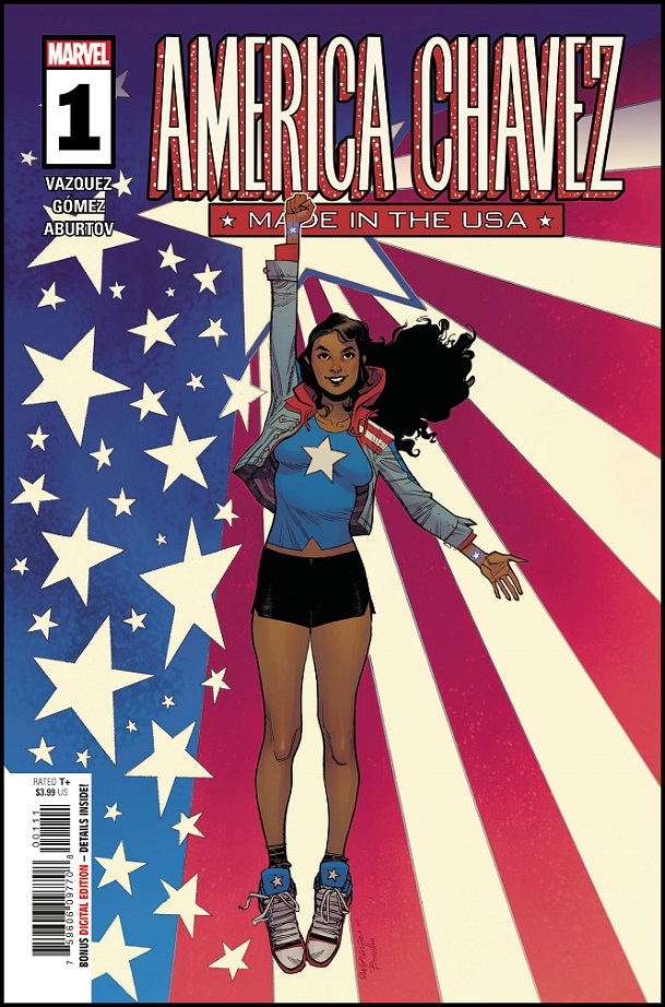 AMERICA CHAVEZ – MADE IN USA #1