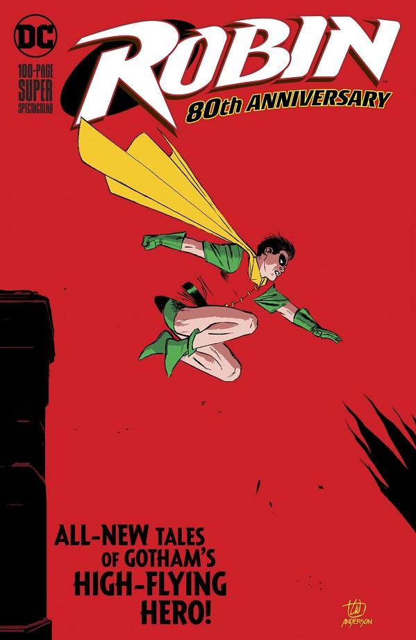 ROBIN 80TH ANNIV 100 PAGE SUPER SPECT #1