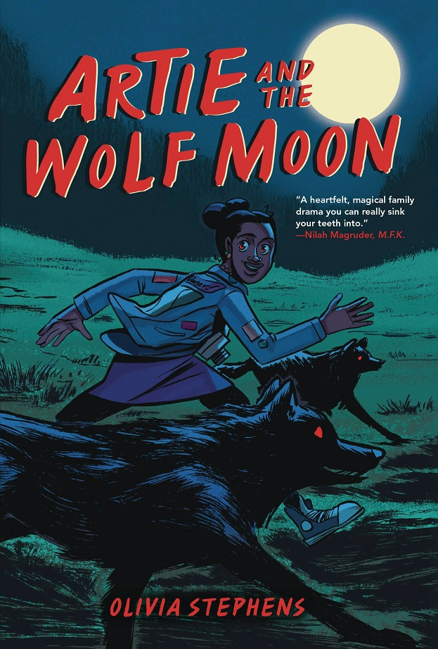 ARTIE AND THE WOLF MOON GN