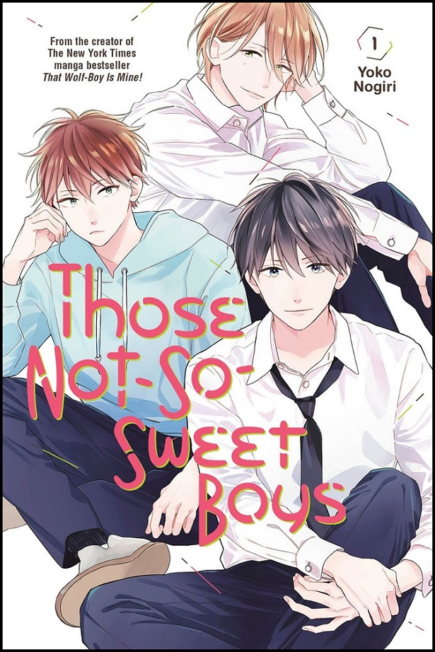 THOSE NOT SO SWEET BOYS GN VOL 01