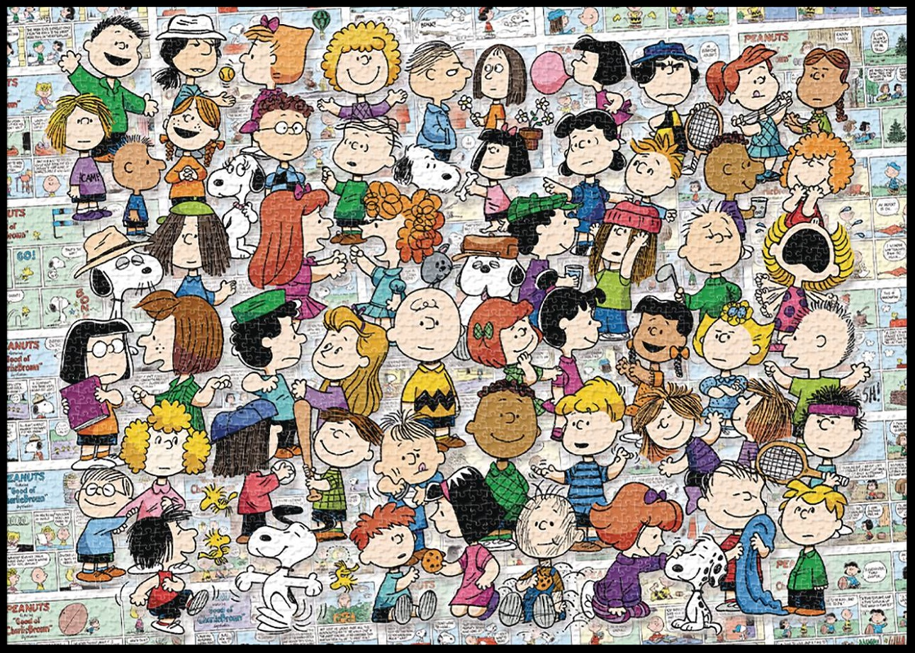 AQUARIUS – PEANUTS CAST – 3000PC PUZZLE