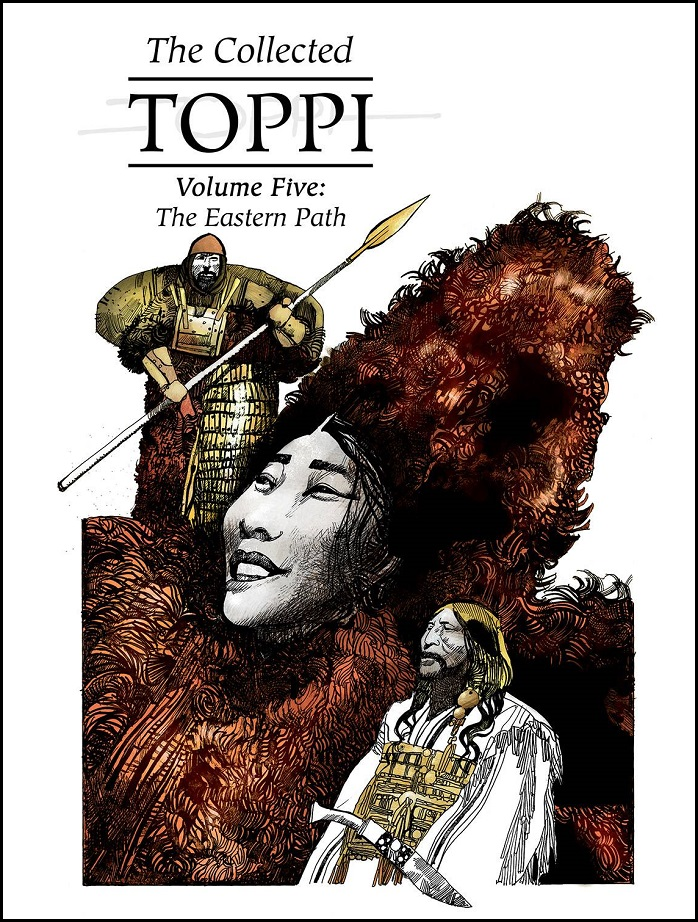 COLLECTED TOPPI HC VOL 05 – EASTERN PATH