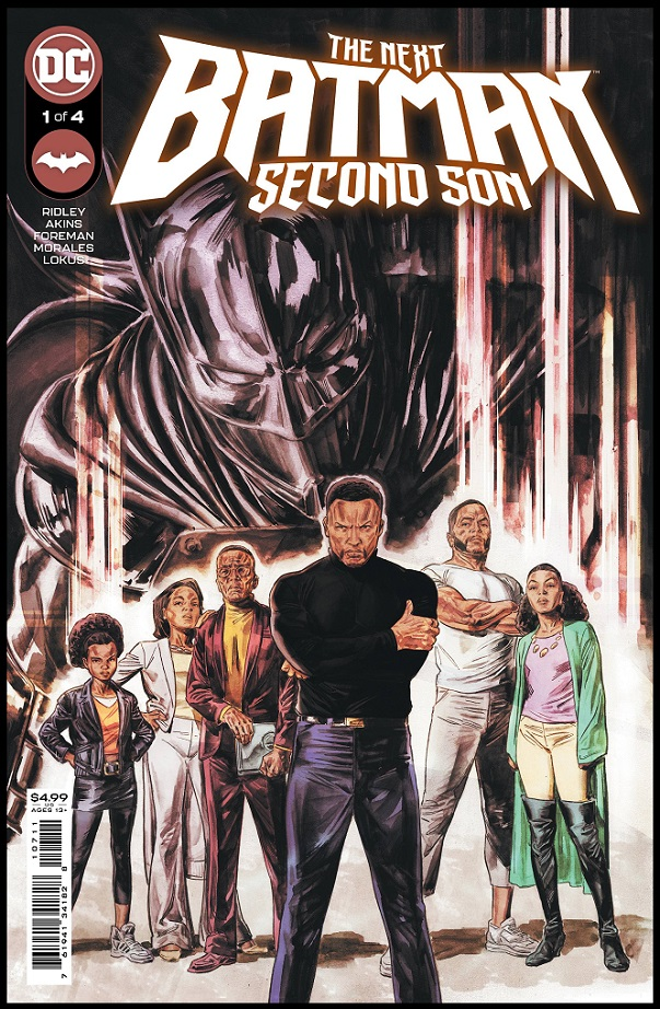 NEXT BATMAN – SECOND SON #1