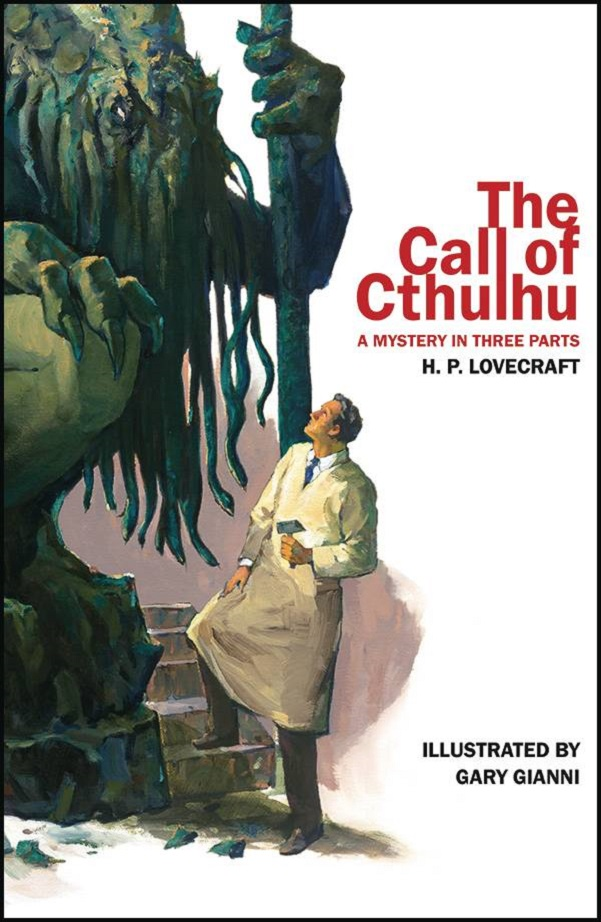 CALL OF CTHULHU – MYSTERY IN 3 PARTS ILLUSTRATED SC