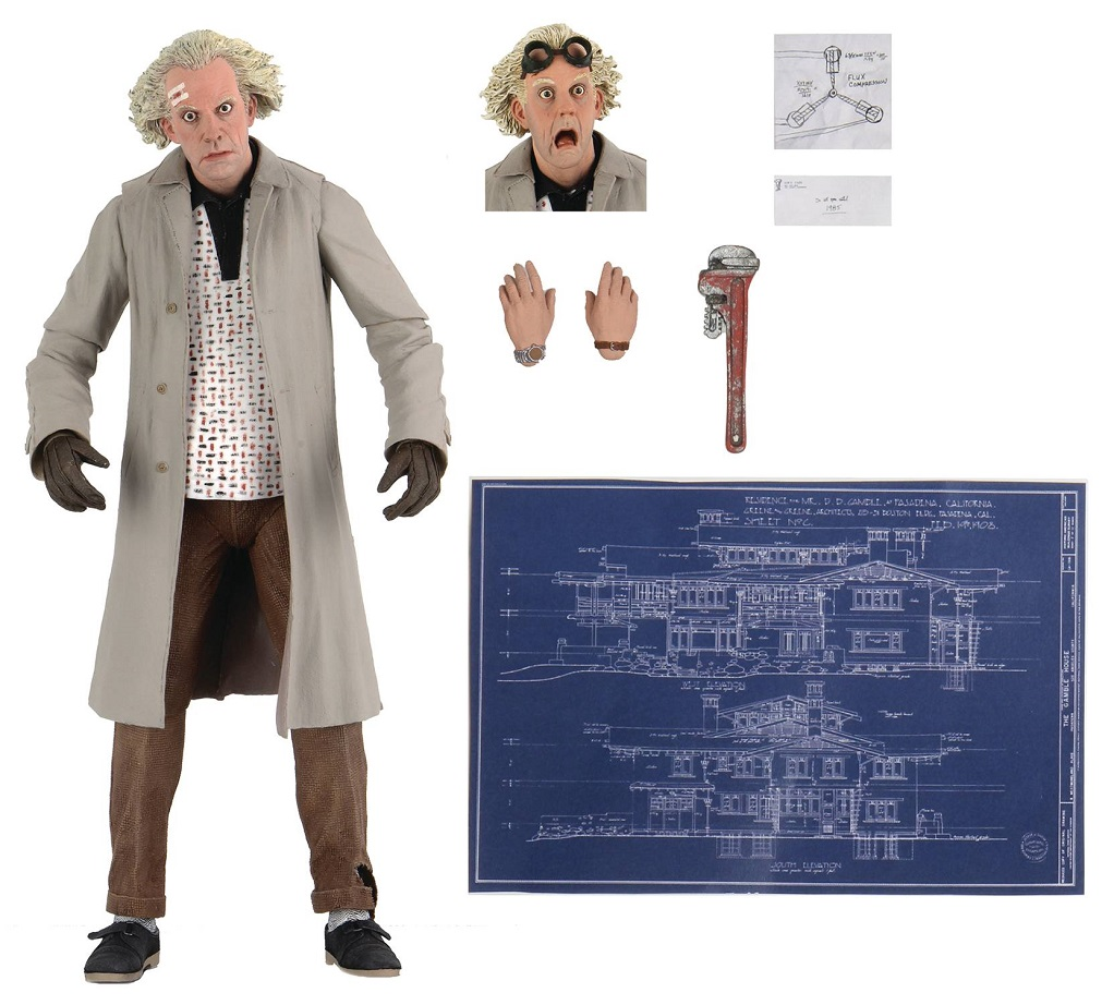 BACK TO THE FUTURE – DOC BROWN ULTIMATE 7IN AF