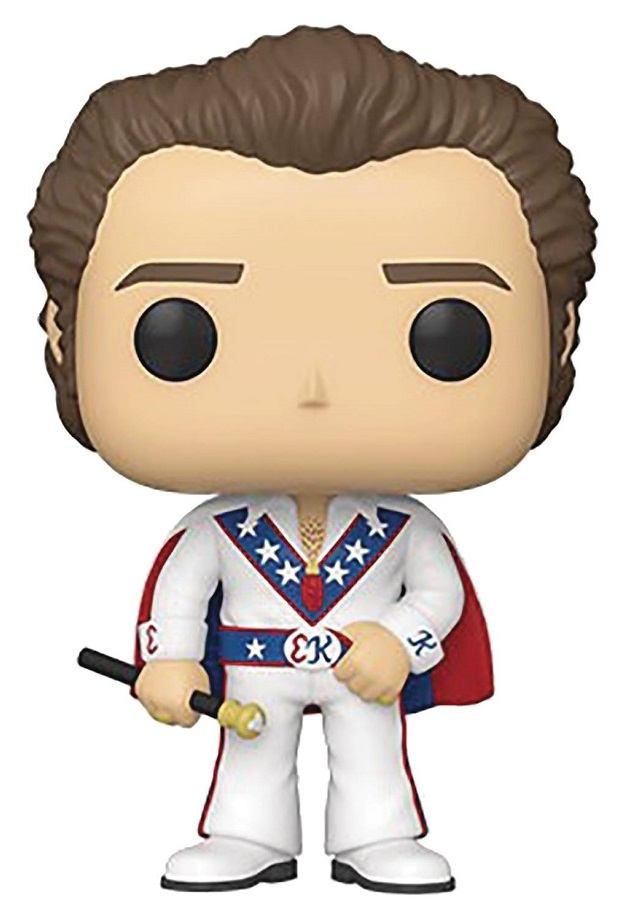 POP ICONS – EVEL KNIEVEL W/CAPE W/CHASE VIN FIG