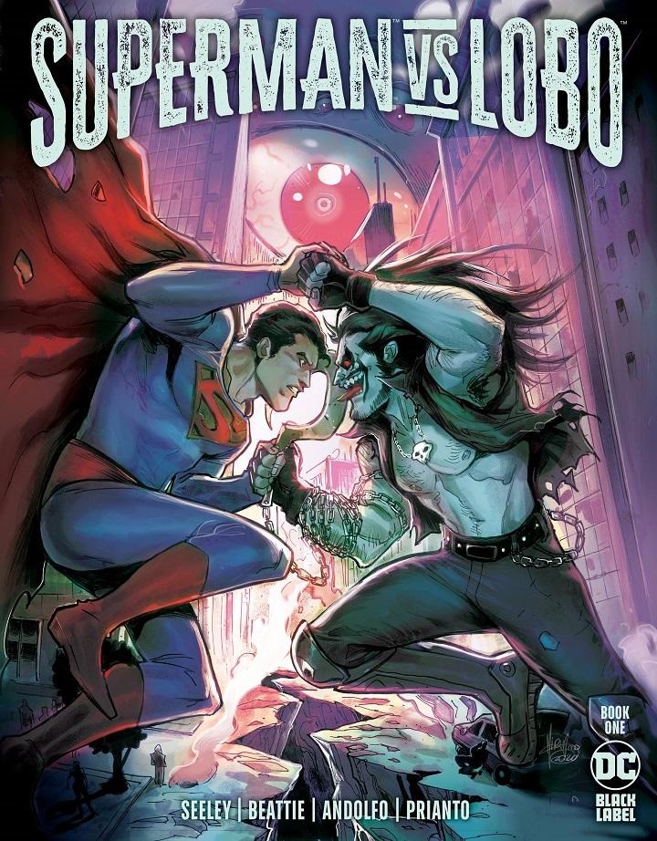 SUPERMAN VS LOBO #1 (OF 3) CVR A MIRKA ANDOLFO