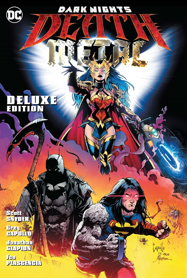 DARK NIGHTS – DEATH METAL DELUXE EDITION HC