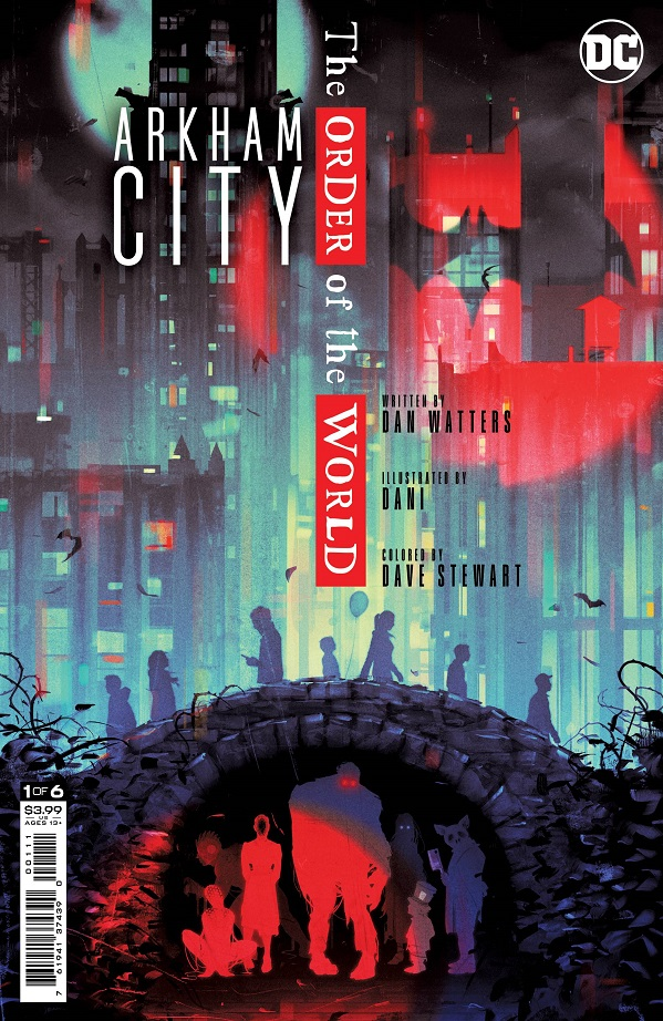 ARKHAM CITY THE ORDER OF THE WORLD #1 (OF 6) CVR A SAM WOLFE CONNELLY (FEAR STATE)