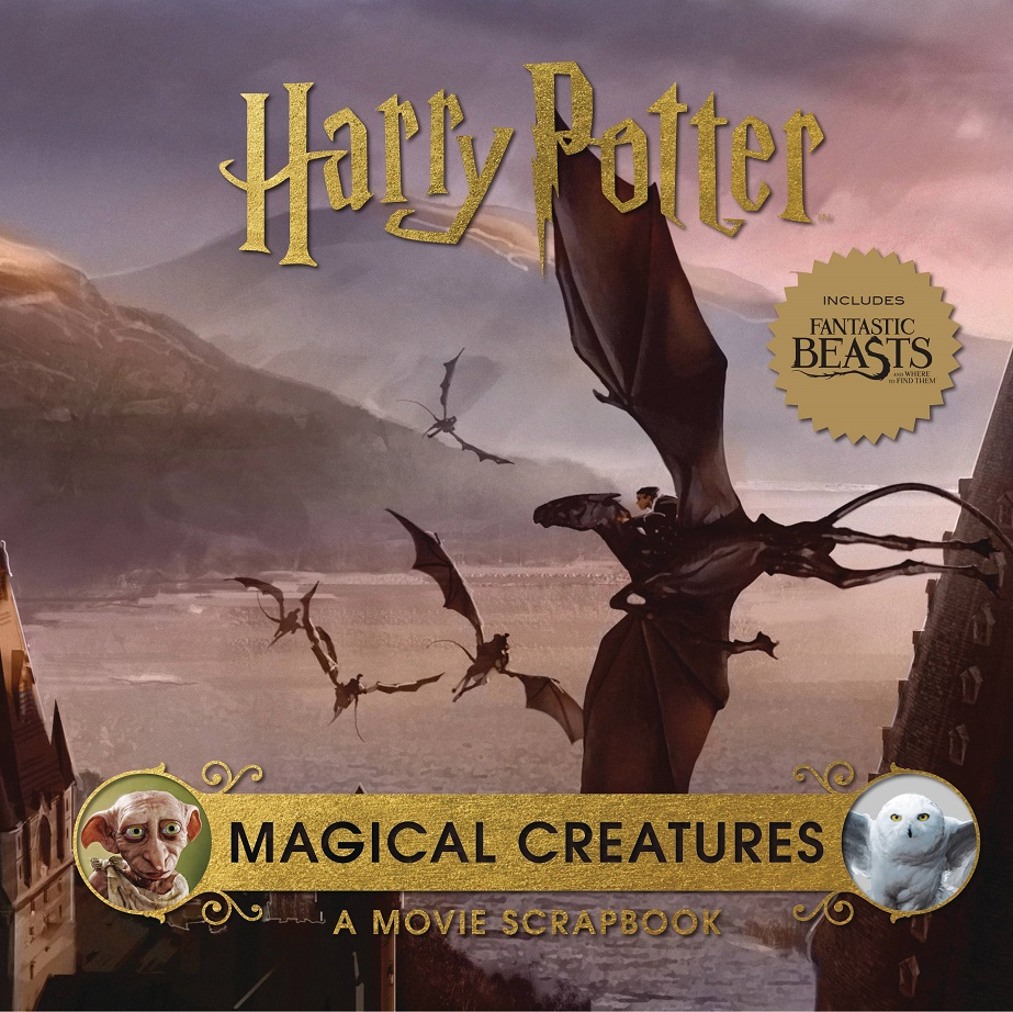 HARRY POTTER MAGICAL CREATURES MOVIE SCRAPBOOK