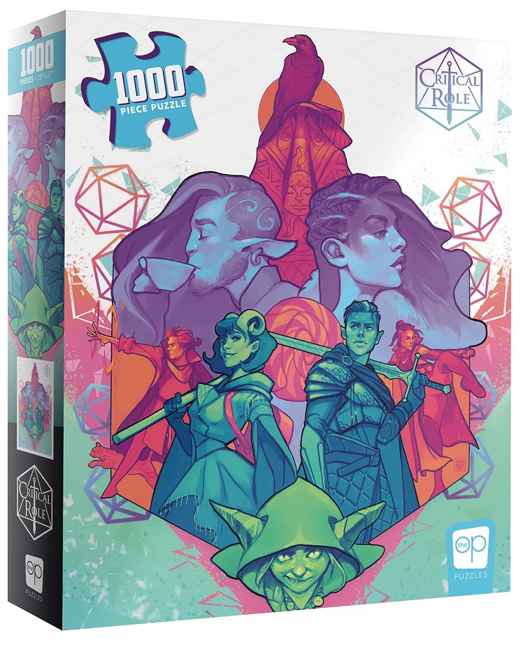 CRITICAL ROLE MIGHTY NEIN 1000 PC PUZZLE