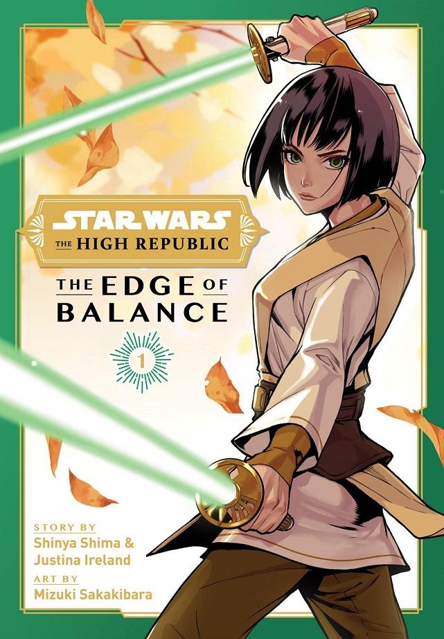 STAR WARS HIGH REPUBLIC – EDGE OF BALANCE GN VOL 01