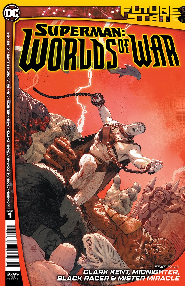 FUTURE STATE – SUPERMAN WORLDS OF WAR #1 (OF 2) CVR A MIKEL JANIN
