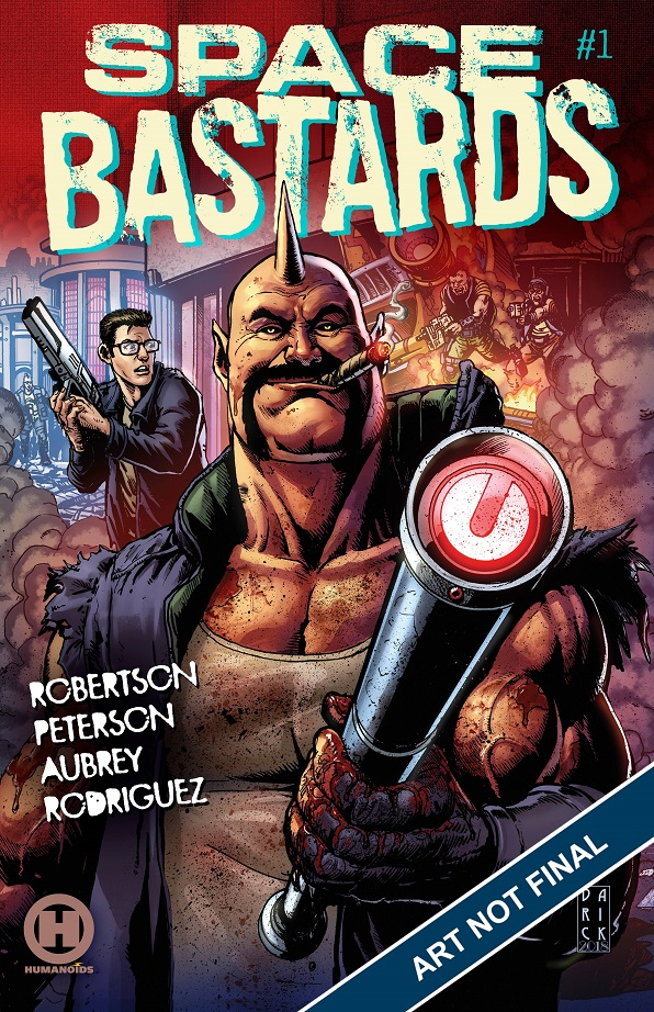 SPACE BASTARDS #1