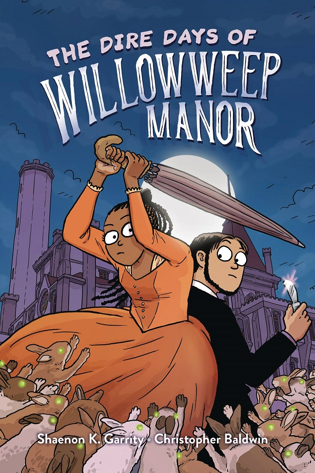 DIRE DAYS OF WILLOWWEEP MANOR GN
