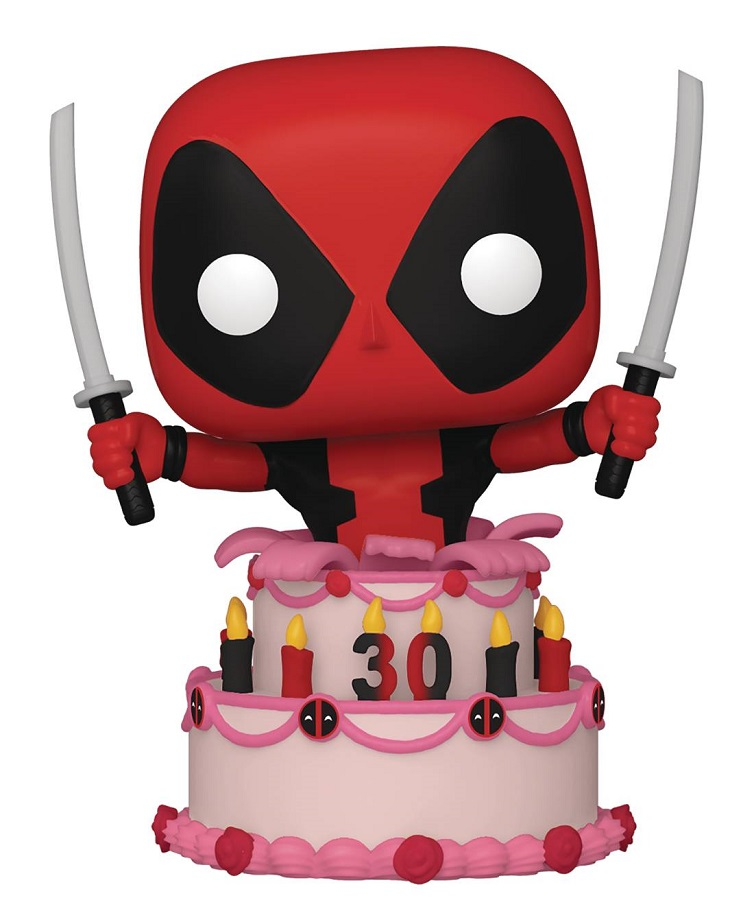POP MARVEL DEADPOOL 30TH – DEADPOOL IN CAKE VIN FIG