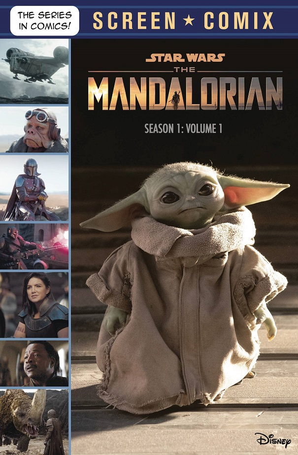 STAR WARS MANDALORIAN – SCREEN COMIX TP VOL 01 SEASON 1