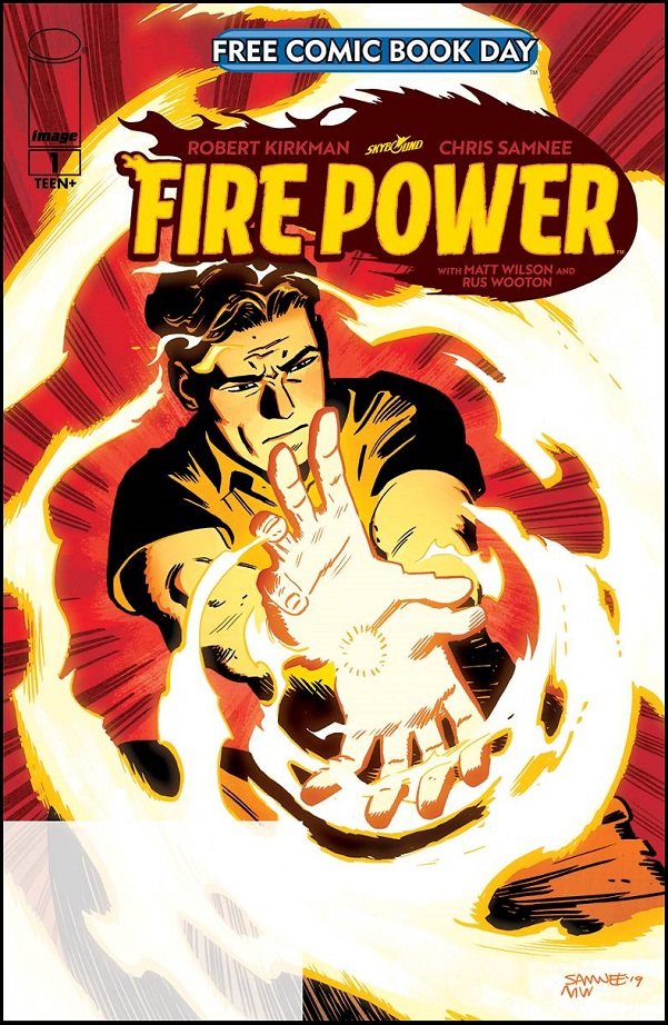 FIRE POWER #1 PROMO ED FORMERLY FCBD