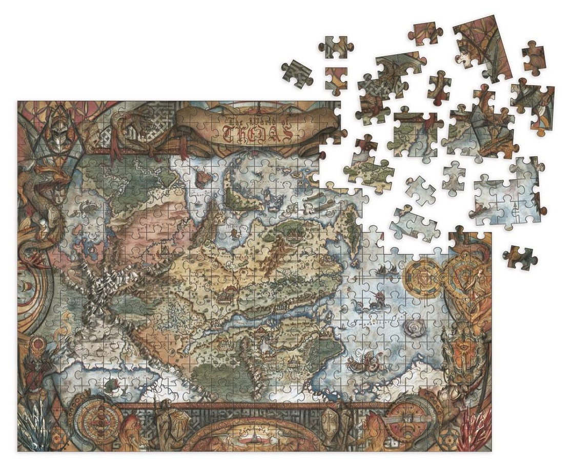 DRAGON AGE – WORLD OF THEDAS MAP PUZZLE