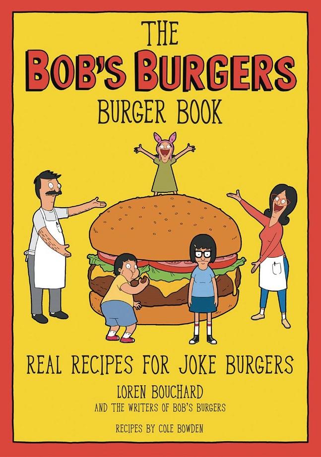 BOBS BURGERS BURGER BOOK HC