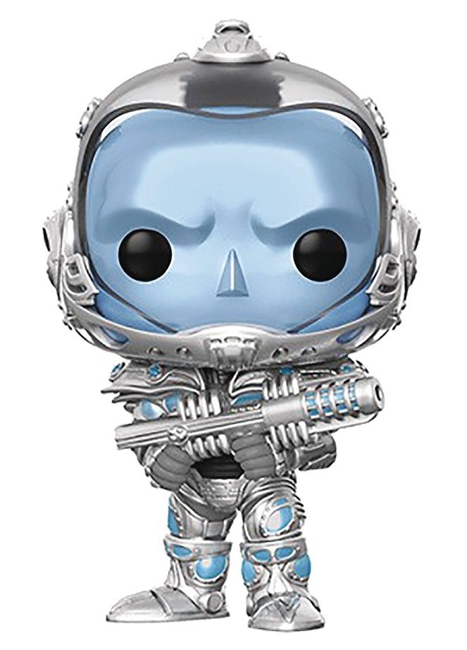 POP HEROES – BATMAN & ROBIN – MR FREEZE VINYL FIG