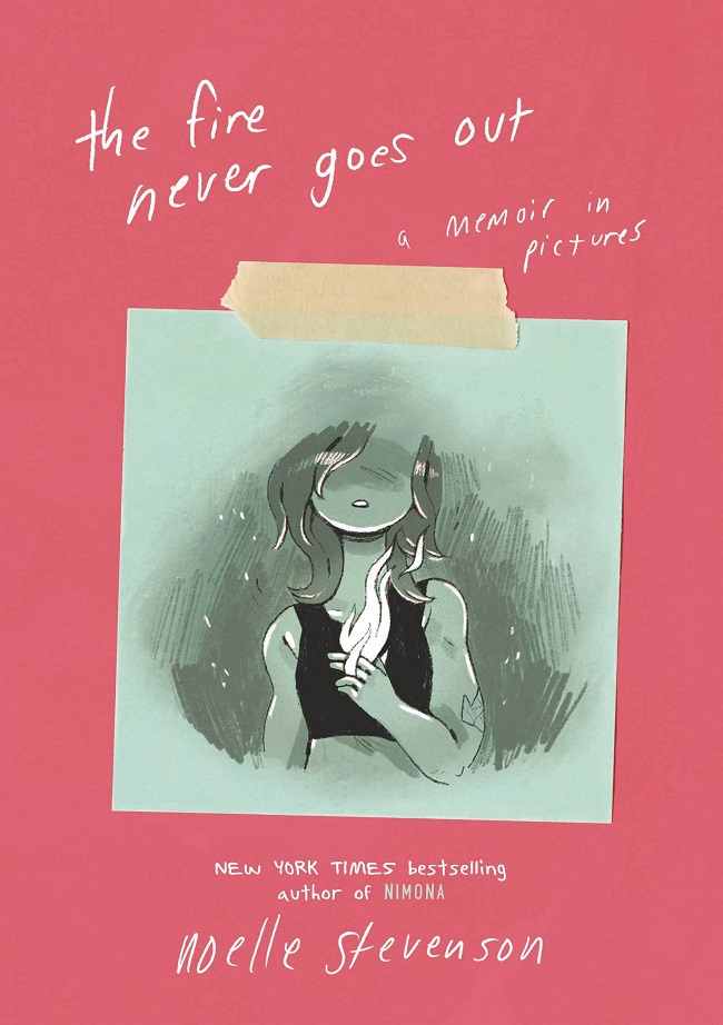 FIRE NEVER GOES OUT - MEMOIR IN PICTURES HC GN