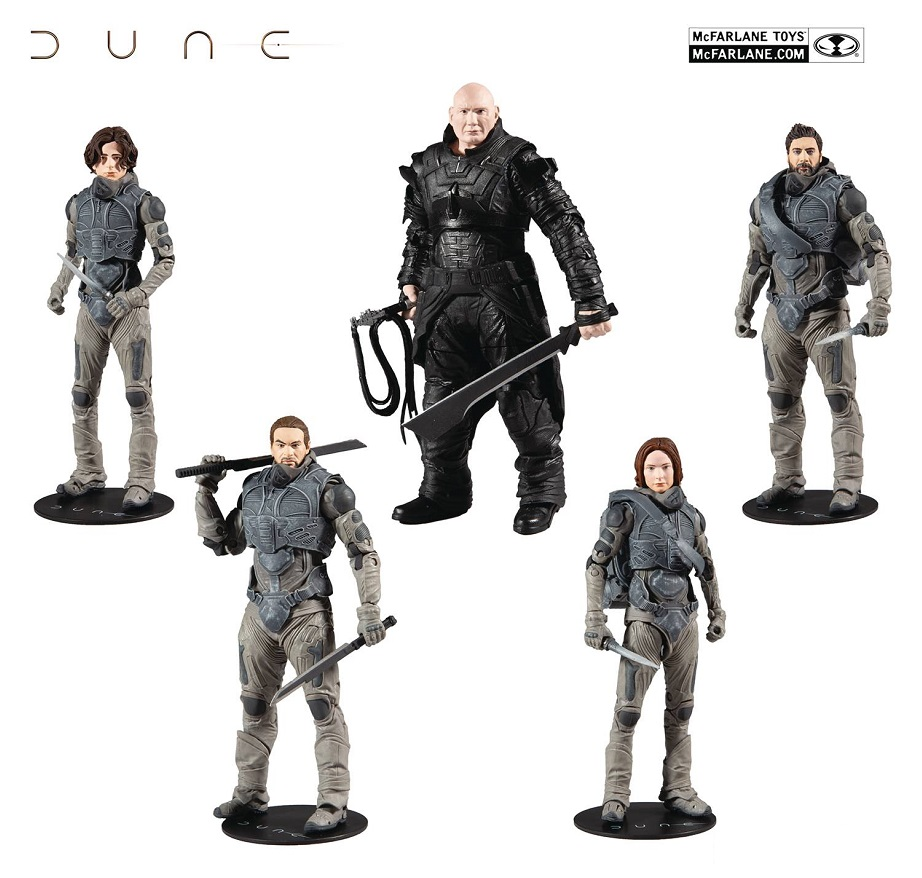 DUNE BUILD-A 7IN SCALE ACTION FIGURES WV1 ASST