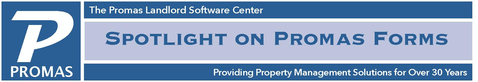 Spotlight on PROMAS Forms