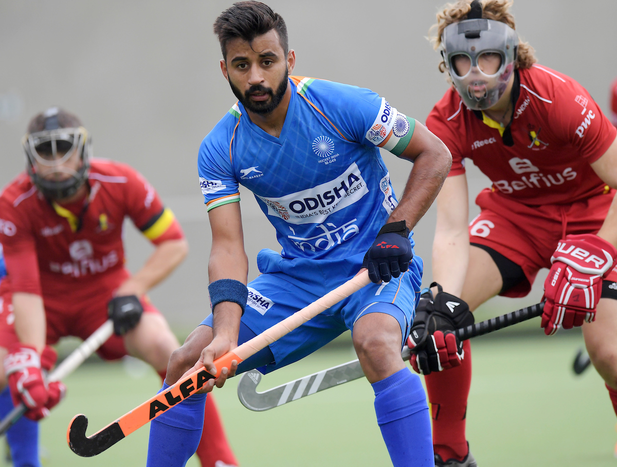 Indian men's hockey team captain Manpreet Singh (Image: HI)