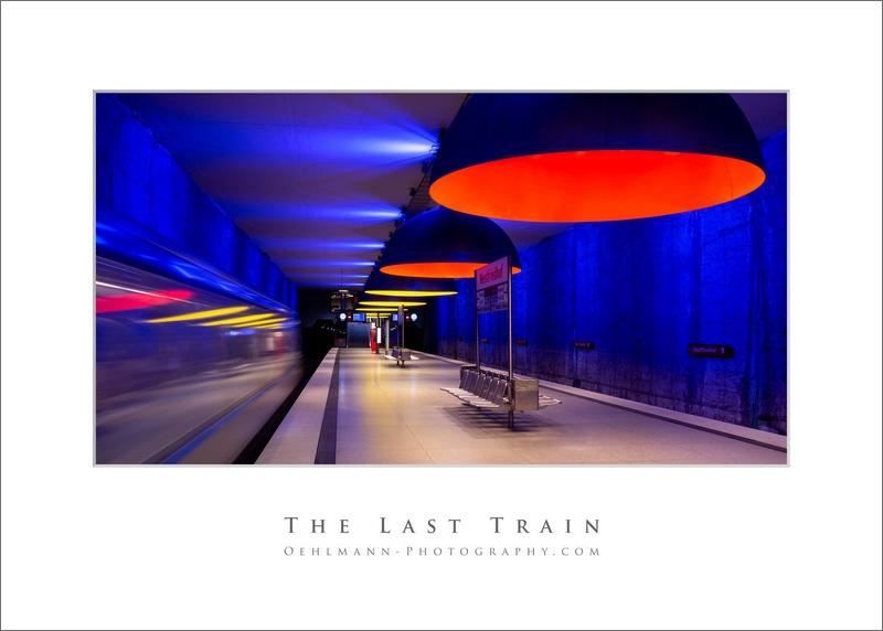 The Last Train, U-Bahnstation München, Dr. Ralph Oehlmann, Oehlmann-Photography
