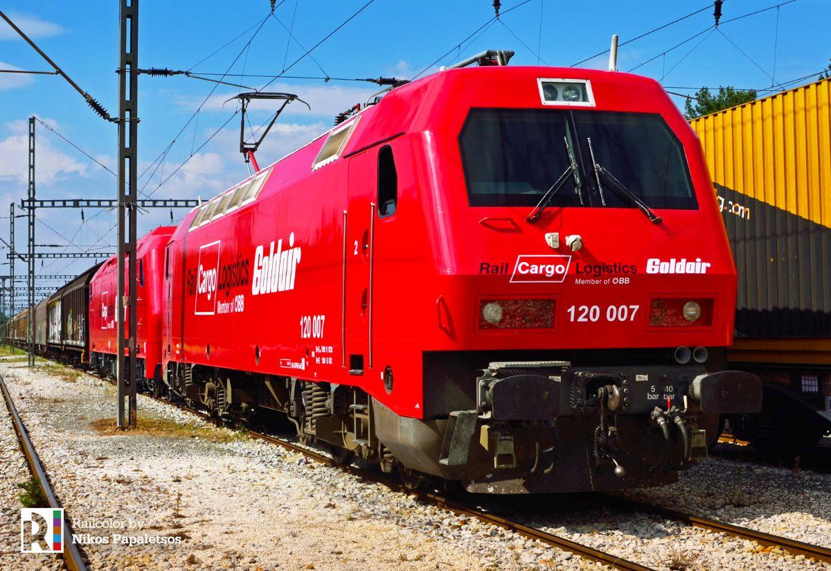 RCL Goldair HellasSprinter 120 0 & ADtranz (Bombardier) 220 032