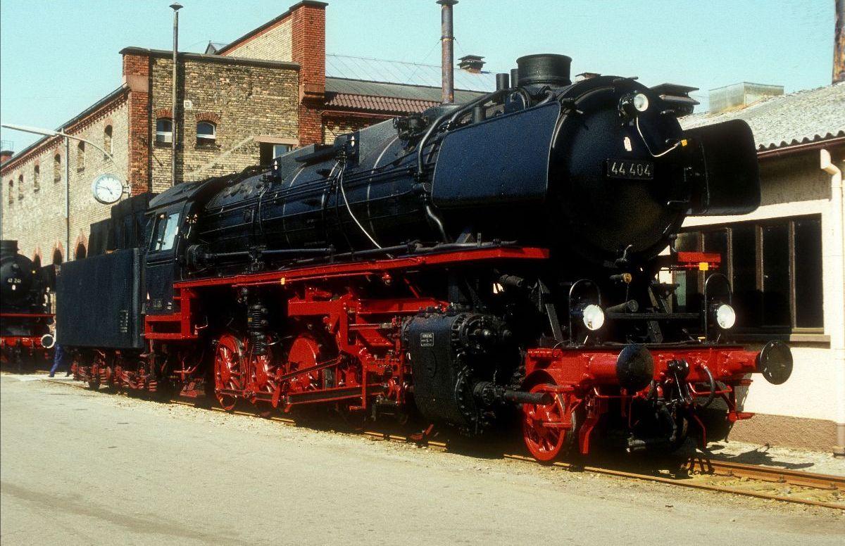 Η 44 404 στον εορτασμό του εργοστασίου επισκευής του Offenburg, 08.07.1984
