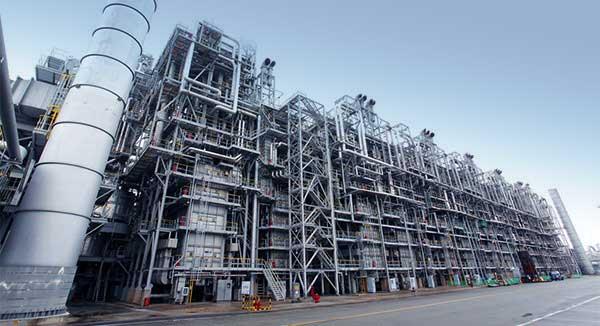 NBR Petrochemicial factory