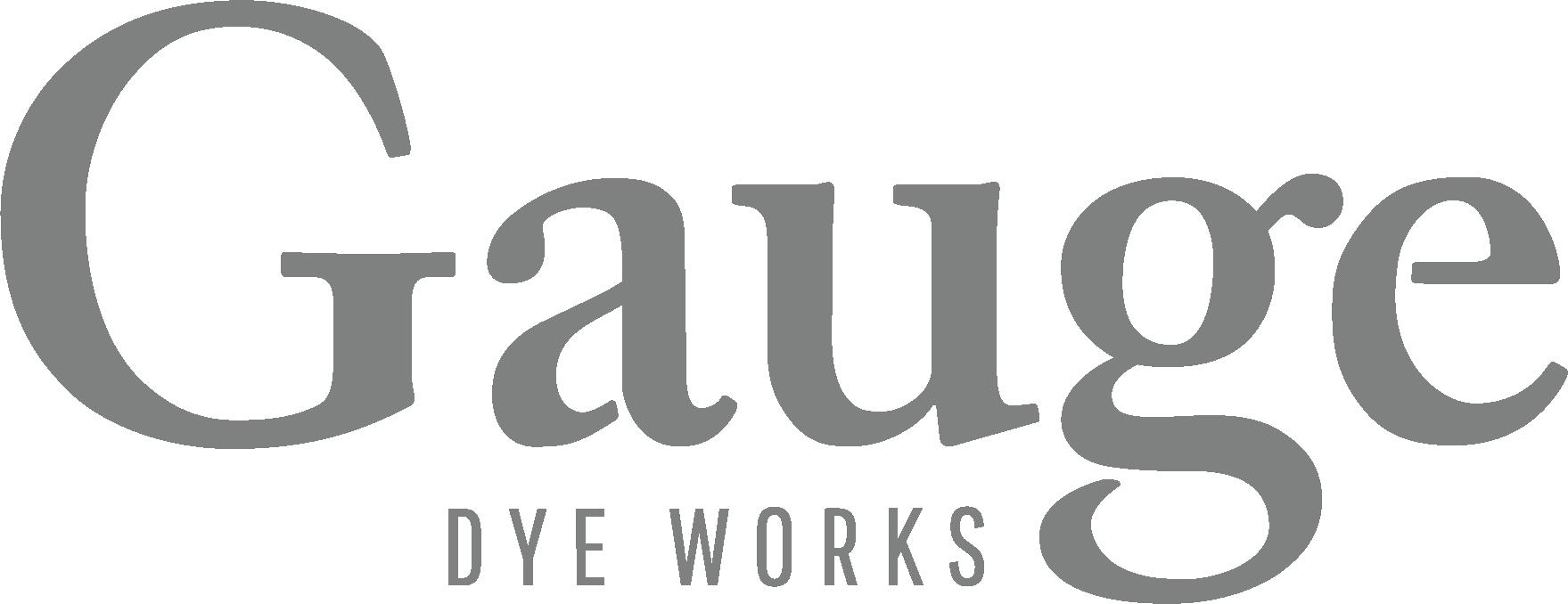 Gauge Dye Works logo