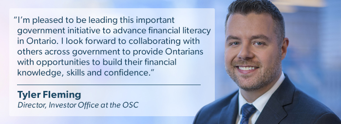 Ontario Intragovernmental Committee on Financial Literacy