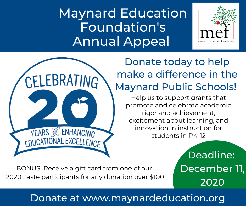 MEF 2020 Annual Appeal