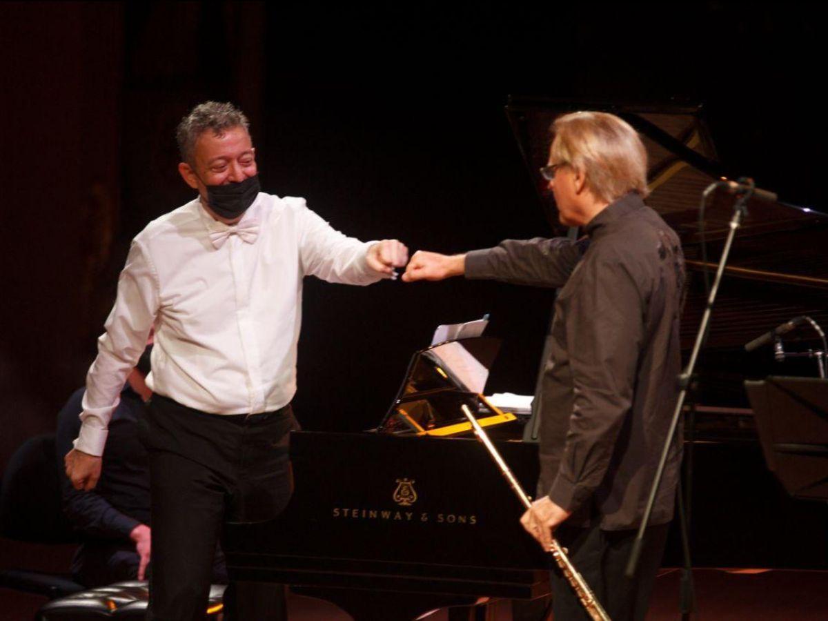 Raffaele Cortessi Pianista y Andrea Griminelli Flauta